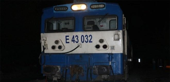 Adana'da alkollü şahsa tren çarptı!