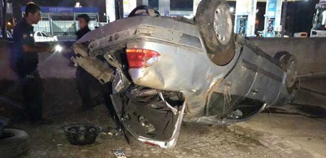 Ankara'da feci trafik kazası: 2 yaralı