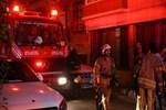 İstanbul'un Fatih ilçesinde korkutan yangın!