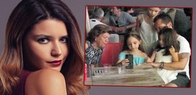 Ozan'ın kızları Beren Saat ile görüntülü konuştu
