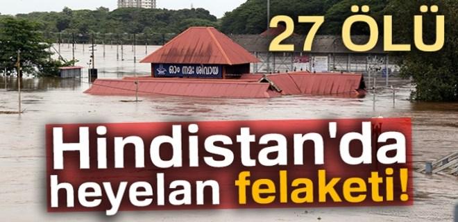 Hindistan'da heyelan felaketi: 27 ölü