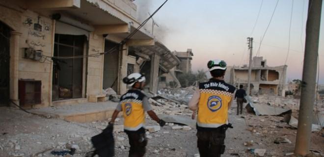 Rus uçaklarından Halep'e saldırı!