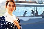 Nil Karaibrahimgil'in teknesinde şok eden olay!