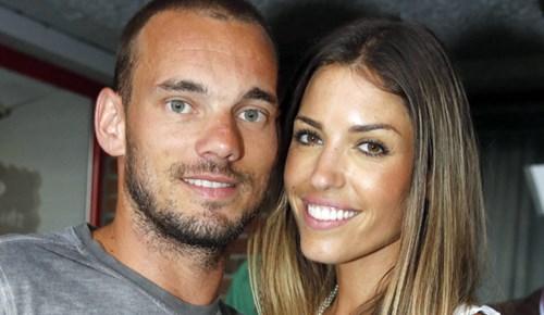 Yolanthe Cabau ve Wesley Sneijder boşanıyor mu?