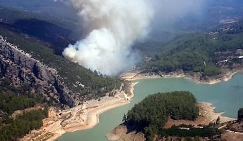 Antalya'da orman yangını!..