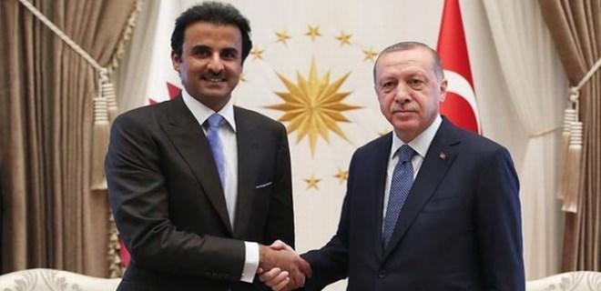 Katar'dan ekonomik saldırılara karşı destek: 15 milyar $