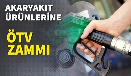 Benzin, motorin ve LPG'ye ÖTV zammı