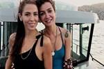 Birce Akalay ve Tanem Sivar'ın güzel dostluğu