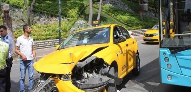 'UBER sıkıştırdı' diyen taksici sarhoş çıktı!
