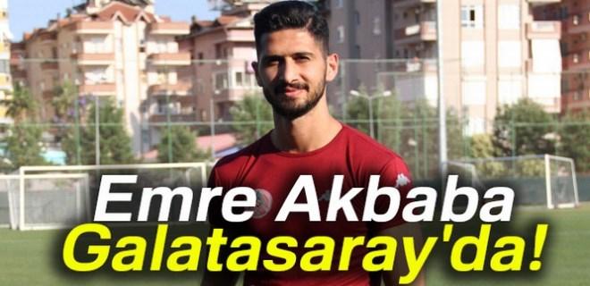 Galatasaray, Emre Akbaba'yı borsaya bildirdi