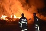 Kastamonu'da 8 ev tamamen yandı!