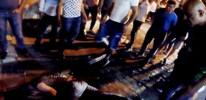 Taksim'de dehşete düşüren anlar