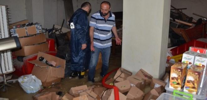 Ordu Fatsa'yı sel aldı!..