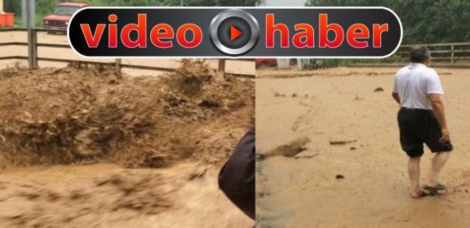 Rize'de sel felaketi yaşanıyor!..