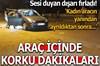 Ankara'da park halindeki otomobil içinde tartışan şahıslar arasında çıkan silahlı kavgada, bir kişi...