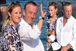 Ali Ağaoğlu ve Petek Ertüre'den mutluluk pozları