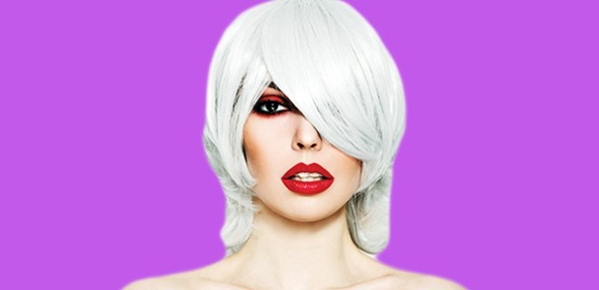 Beyaz saçlara kolay çözüm!