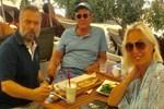 Oktay Kaynarca ve Tarık Ünlüoğlu Kıbrıs'ta buluştu