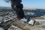 Konya'da Matbaacılar Sitesi'nde yangın
