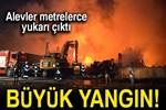 Konya'daki büyük yangın söndürüldü