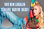 Aleyna Tilki 100 bin liralık teklifi reddetti