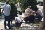 Düşük yaptığı bebeğini kaldırımdaki ağacın altına gömdü