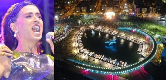 İzmir'de Yıldız Tilbe'ye yoğun ilgi