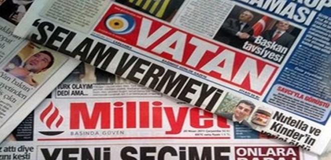Milliyet ve Vatan Gazeteleri'yle ilgili flaş gelişme!