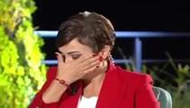 Didem Yılmaz Arslan'ın gözyaşları