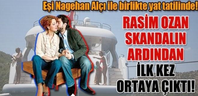 Rasim Ozan Kütahyalı skandalın ardından ilk kez ortaya çıktı!