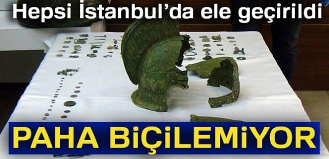 İstanbul'da tarihi eser kaçakçılığı!