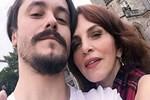 Sertab Erener eşine özel pozlar verdi