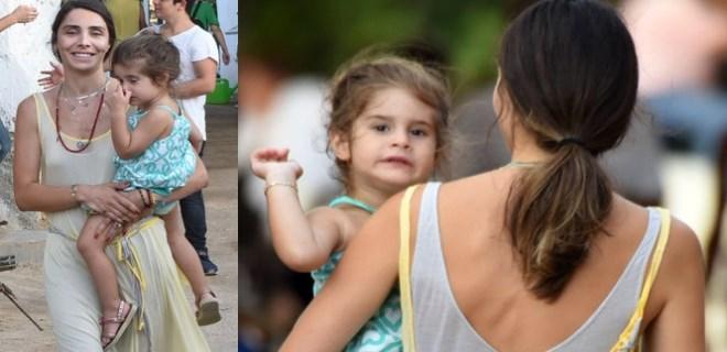 Nur Fettahoğlu 1,5 yıl sonra kızı ile görüntülendi!