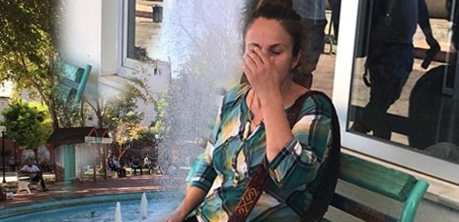 Bebeğini süs havuzunda boğmaya çalıştı!