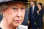 Yeni gelin Meghan, kraliçeyi dize getirdi!