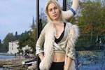 Aleyna Tilki ceketten rahatsız!