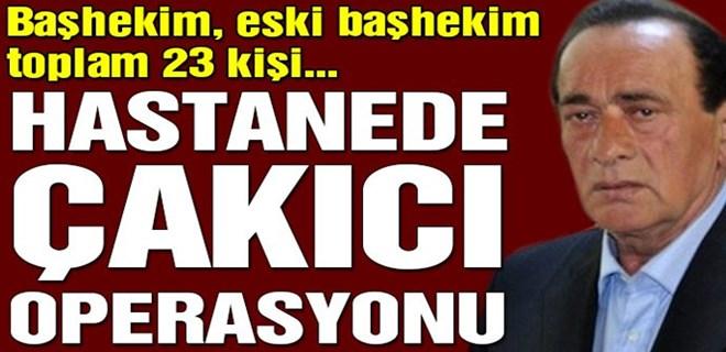 Kırıkkale'de Çakıcı operasyonu: 23 gözaltı