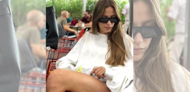 Serenay'ın bacakları yağmur tweetinin önüne geçti
