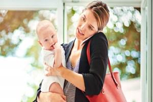 Çalışan anneye ayda 400 TL