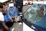 İYİ Partili Özcan Yeniçeri'ye otomobil çarptı!