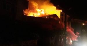 Feci yangında 2 çocuk öldü!