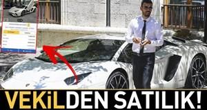 Vekilden satılık Lamborghini