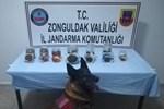 Zonguldak'ta kavanozlara gömülü esrar yakalandı