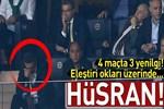 Ali Koç'un F.Bahçe'si 4 maçın 3'ünü kaybetti