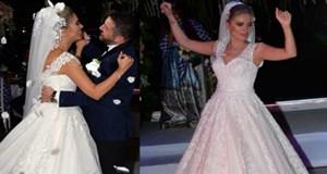 Nihat - Fulya Kahveci, Boğaz'da düğün yaptı