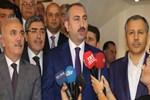 Adalet Bakanı Gül, Gaziantep'te açıklamalarda bulundu