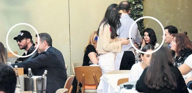 Hande Yener ve Sinan Akçıl aylar sonra pişti oldu