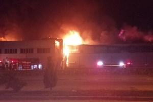 Aydın'daki yangın güçlükle kontrol altına alındı