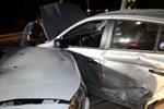 Elazığ'da 3 araç birbirine girdi
