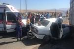 Kayseri'de tüyleri ürperten trafik kazası